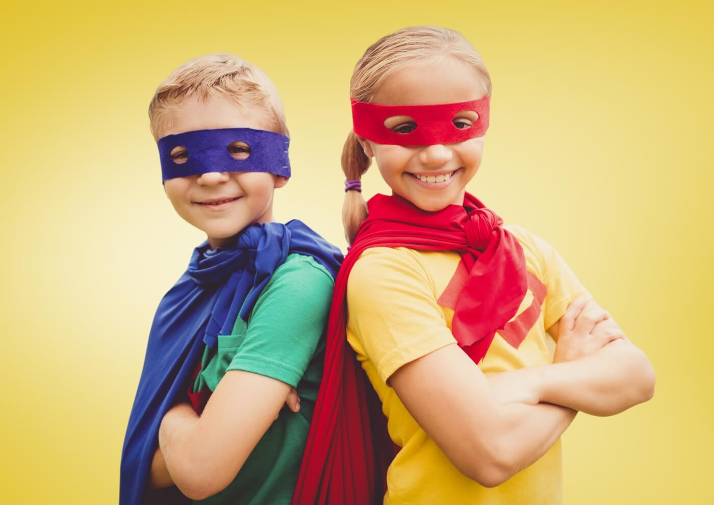 Become a Superhero in the eyes of our family